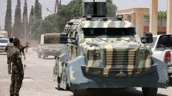US-Militär schießt syrischen Kampfjet ab