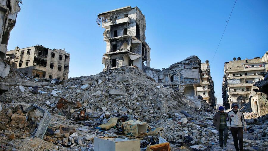 Offenbar neuer Giftgas-Einsatz in Syrien