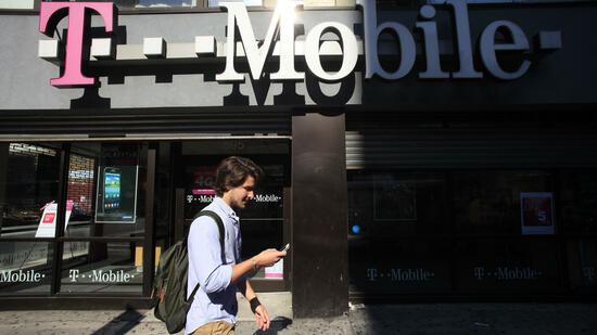 T-Mobile-Filiale in den USA. Quelle: dapd