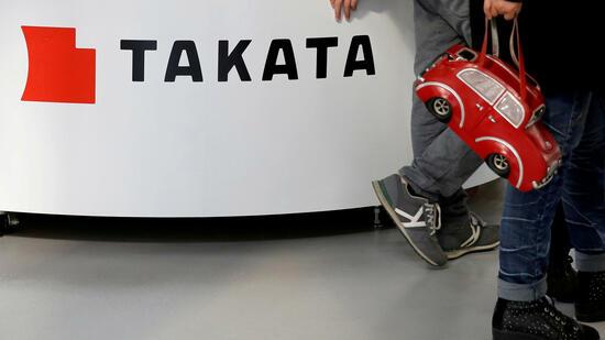 Medien: Takata bereitet sich wegen Airbag-Desaster auf die Insolvenz vor