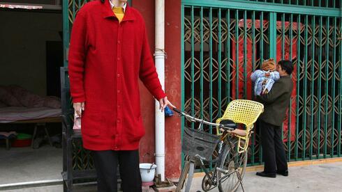 Während ihre größe in chinesischen medienberichten immer mit 2 36