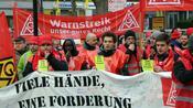 Metall-Tarifstreit: Verhandlungsmarathon ab Mittwoch