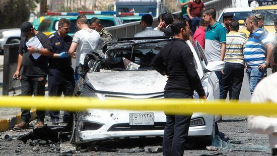 Mindestens 23 Tote bei Autobomben-Anschlägen in Bagdad