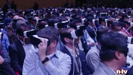 samsung auf dem mobile world congress mit mark zuckerberg in die virtuelle realit t. Black Bedroom Furniture Sets. Home Design Ideas