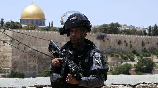 Ministerium : Palästinenser naher der Altstadt von Jerusalem erschossen