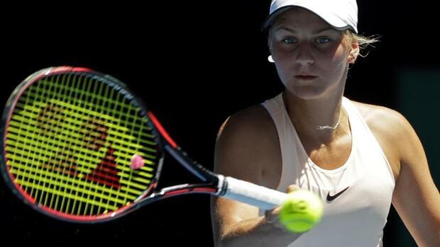 Tennis: 15 Jahre alte Kostjuk verpasst weitere Überraschung