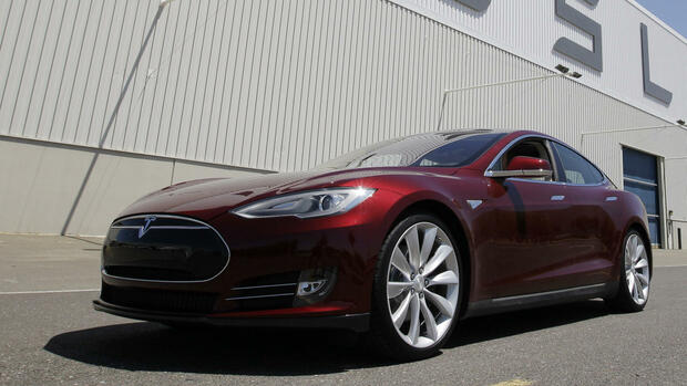 Tesla Model S Quelle: ap