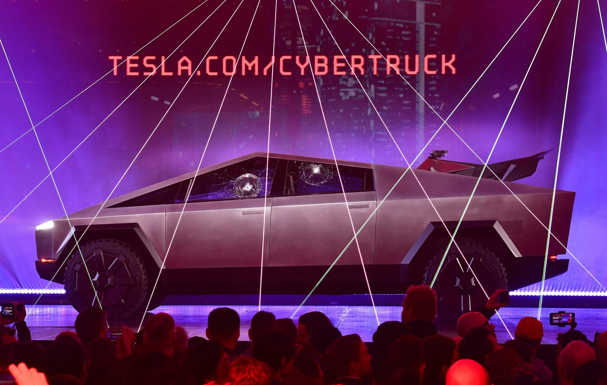 "Tesla stellt Elektro-Pickup ""Cybertruck"" vor"