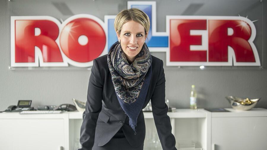 Roller Geschäftsführerin Tessa Tessner Erst Ins Internet Dann In