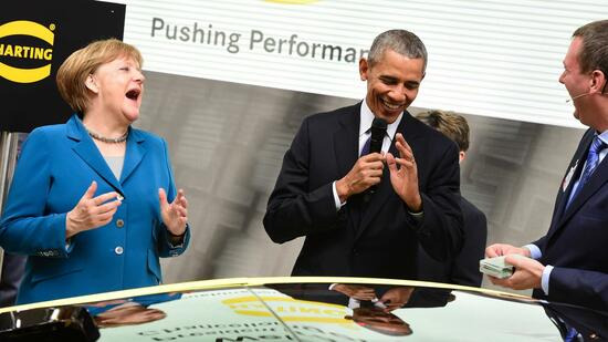 "Zitate von Obama und Merkel: ""The proof of the pudding is the eating"""