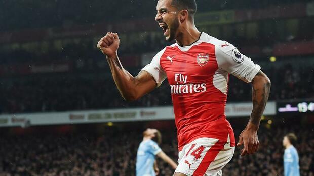 Fußball: Walcott wechselt nach zwölf Jahren bei Arsenal zu Everton