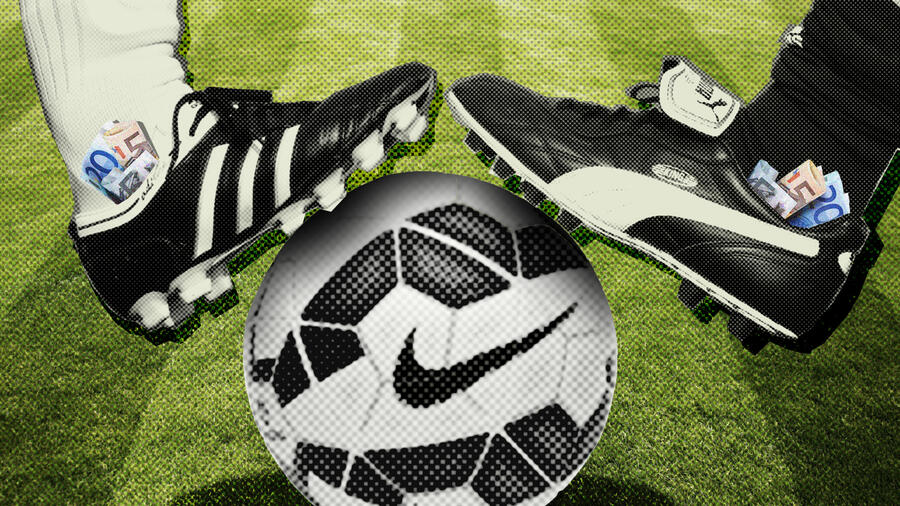 Sports sponsoring: Adidas, Nike and Puma vie for top soccer