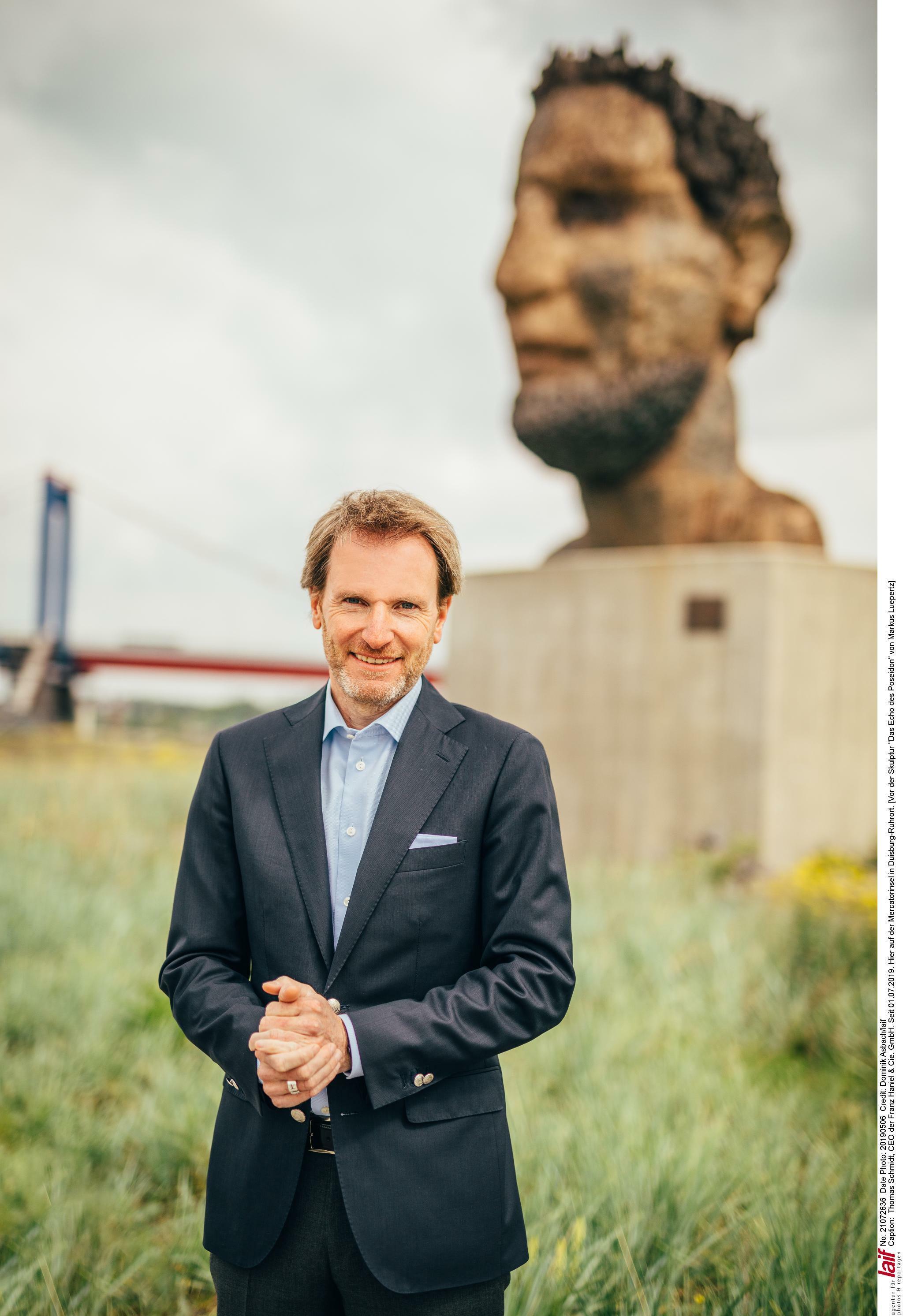 Haniel-Chef Thomas Schmidt baut das Familienunternehmen um
