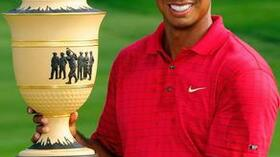Tiger Woods feiert 70. PGA-Erfolg. Foto: Bongarts/Getty Images Quelle: SID