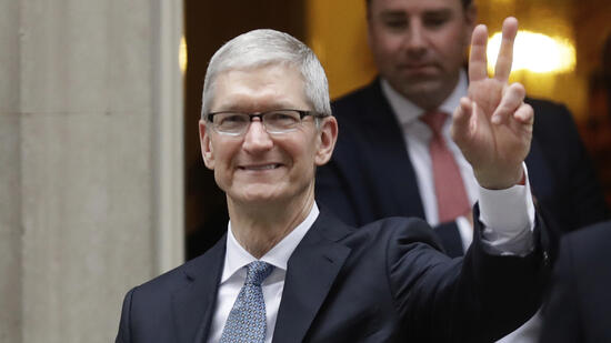 Millionen-Bonus für Apple-Chef Tim Cook