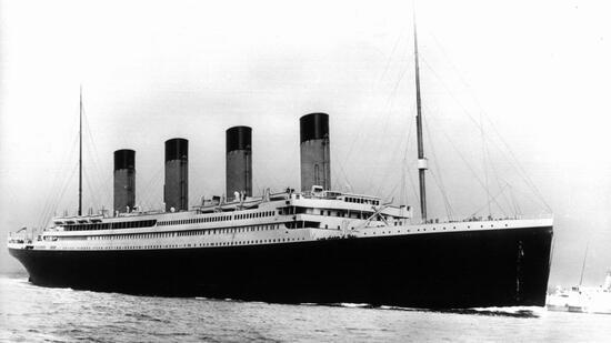 Wo Ging Die Titanic Unter