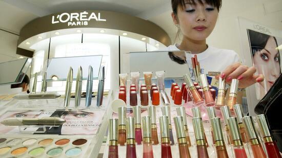 unternehmen industrie kosmetikkonzern loreal laesst konkurrenz hinter sich