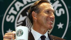 Starbucks-CEO Howard Schultz plant die Expansion. Quelle: Reuters