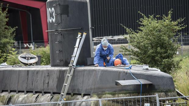 Fall Kim Wall: Dänische Polizei holt Arm aus der Ostsee