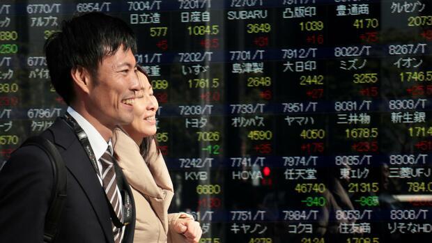 Topix, Nikkei und Co.: Asiens Börsen steigen auf Rekordstände