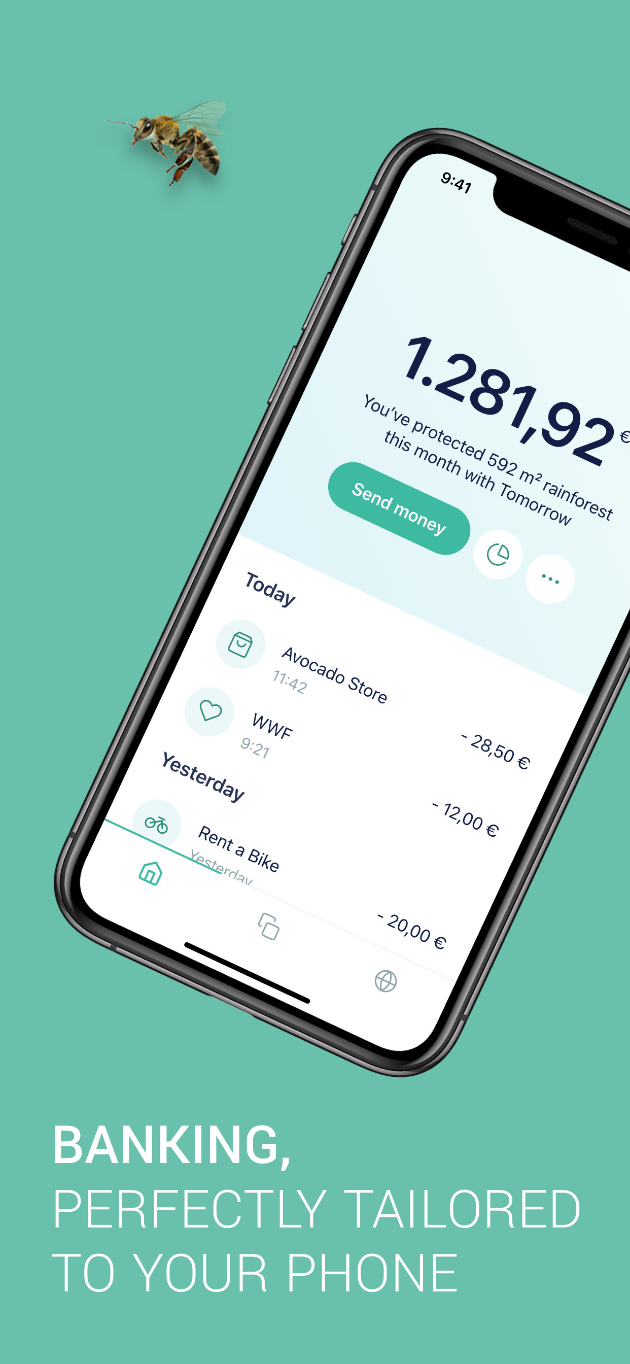Smartphonebank Tomorrow sammelt Geld fast neun Millionen Euro ein