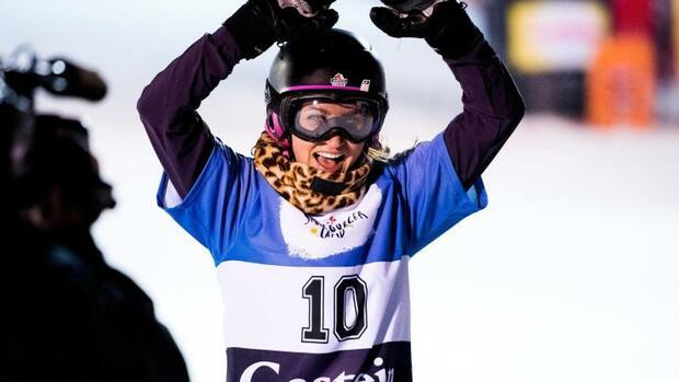 Snowboard: Snowboarderin Hofmeister gewinnt Rogla-Weltcup