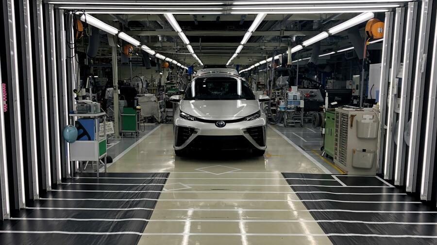 Wie Japan beim Rennen um das Auto der Zukunft punkten will