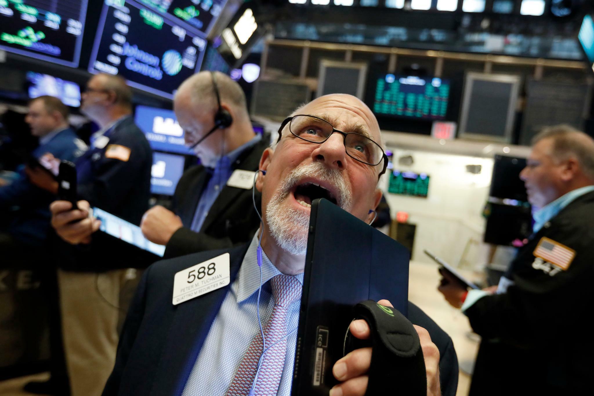 Wall Street: Trumps Zollankündigung schockiert US-Anleger