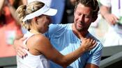 Tennis: Kerber trennt sich von Trainer Fissette