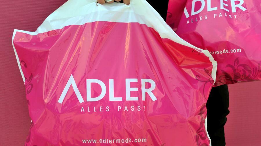 2019 setzte die Adler Modemärkte AG nach eigenen Angaben 500 Millionen Euro um. Quelle: dpa