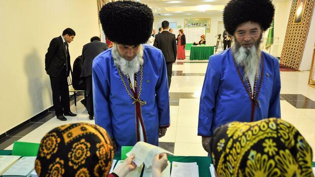 Ehemalige Sowjetrepublik: Turkmenistan hat ein neues Parlament gewählt