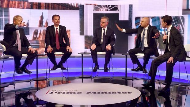 Zweite TV-Debatte: Tory-Kandidatendebatte versinkt im Brexit-Chaos