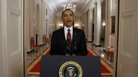 Barack Obama announces the death of Osama bin Laden. Quelle: Reuters