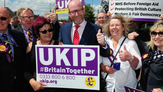 Wegen Wahldebakel: UKIP-Chef Nuttall tritt zurück