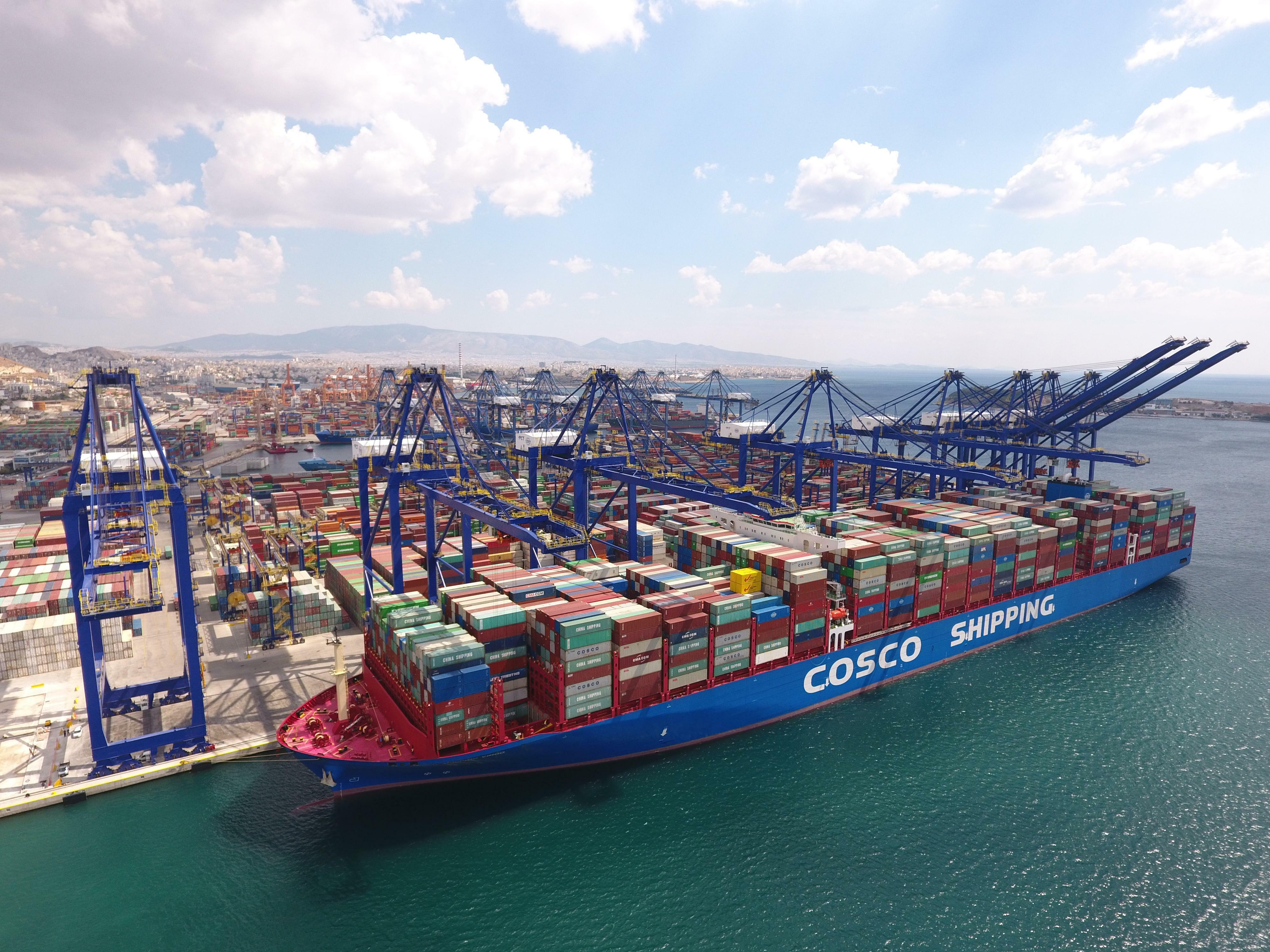 Warum der Hafen von Piräus für China das Tor nach Europa werden soll
