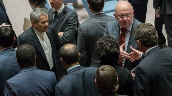 USA rufen UNO-Sicherheitsrat wegen Iran an