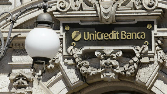 Unicredit-Hauptsitz in Mailand