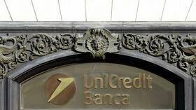 Das Unicredit Logo. Quelle: Reuters