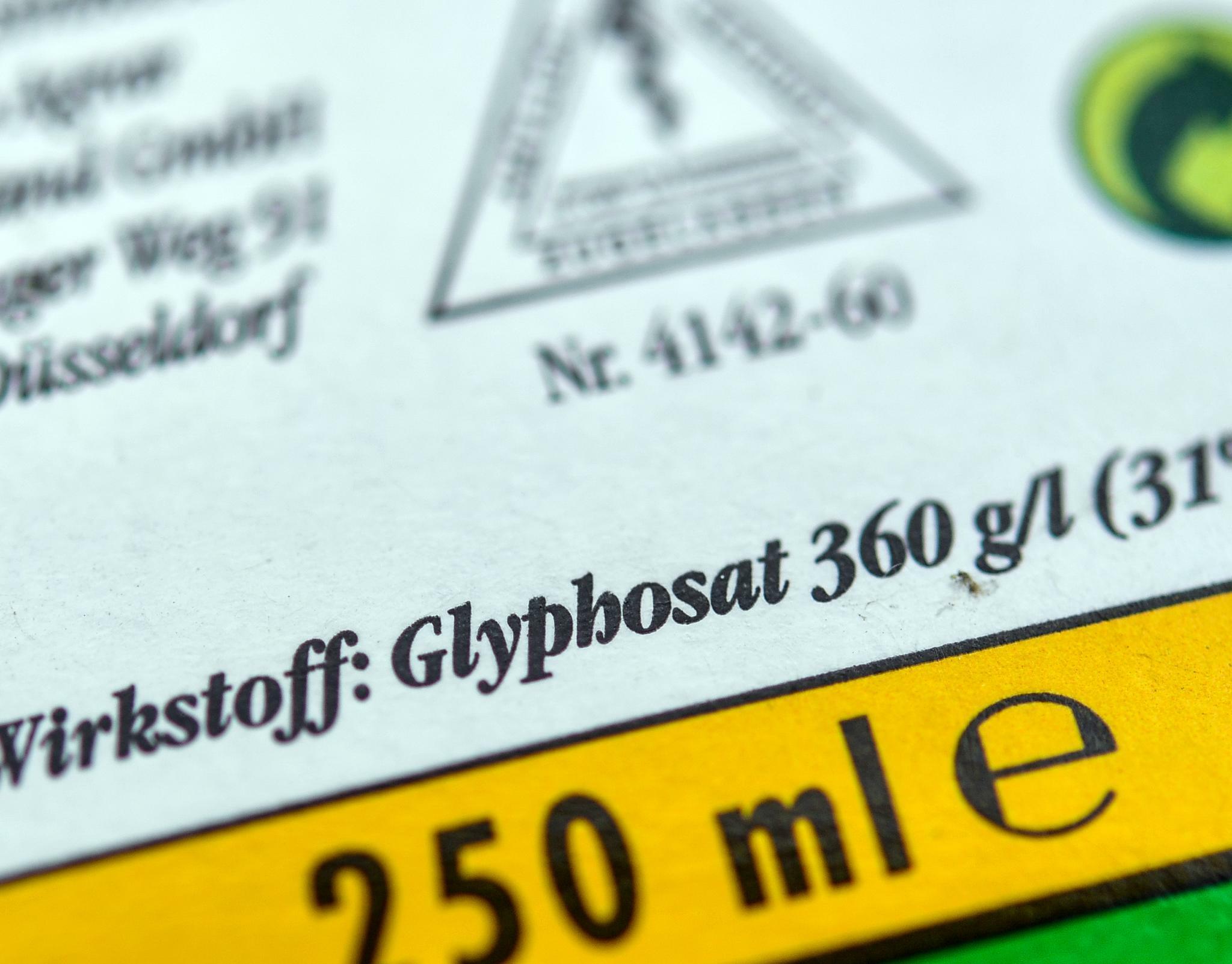 Glyphosat: Bundesregierung will Unkrautgift Ende 2023 verbieten