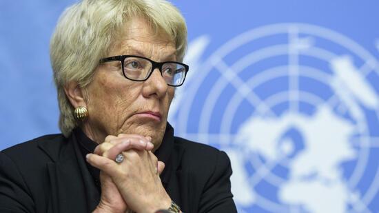 Del Ponte gibt Posten in UNO-Untersuchungskommission für Syrien frustriert auf