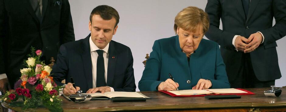 Aachener Vertrag Das Sagt Die Presse Zum Neuen Vertrag