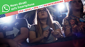 US-Wahl 2016: Das US-Briefing des Handelsblatts – via WhatsApp