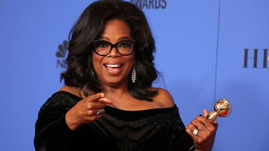 Oprah Winfrey begeistert bei Golden Globes