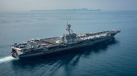 US-Flugzeugträger noch nicht vor Korea angekommen