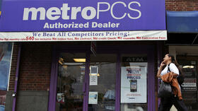 Eine MetroPCS-Filiale in New York. Quelle: dapd