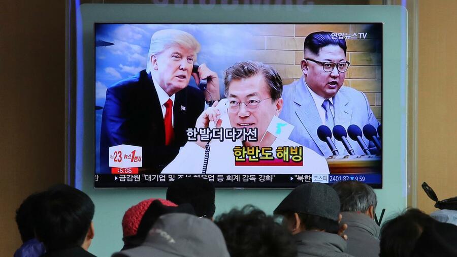 Trump will Nordkoreas Machthaber Kim treffen
