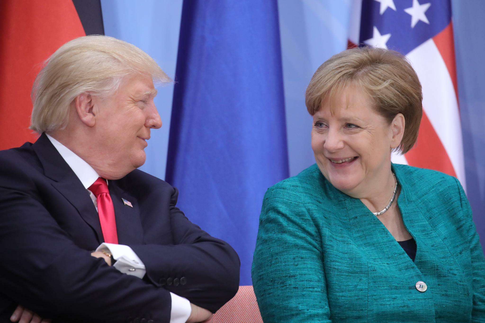 """Trump: """"Deutschland leiht sich Geld, und wird dafür bezahlt"""""""