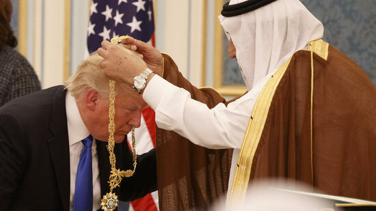 US-Präsident Trump in Saudi-Arabien