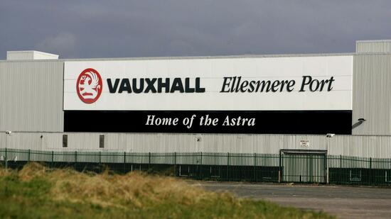 Vauxhall-Werk in Ellesmere Port