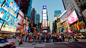Times Square in New York (USA). Quelle: dpa